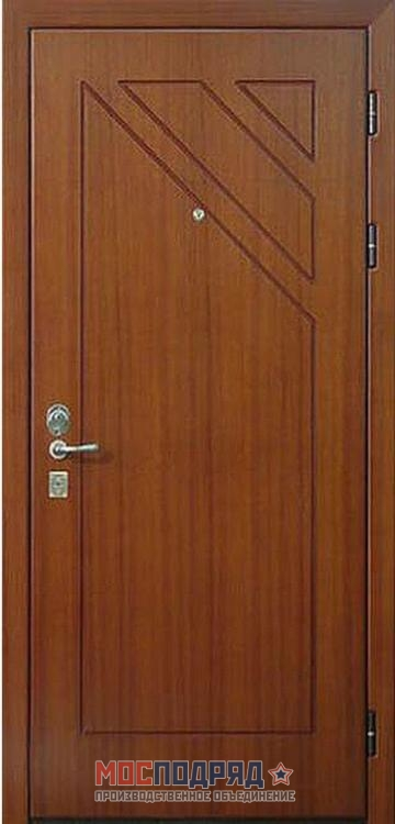 металлическую дверь мдф