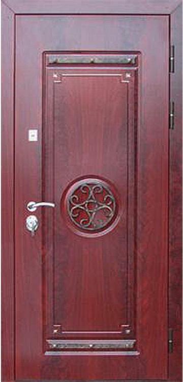 входная дверь шпон перово